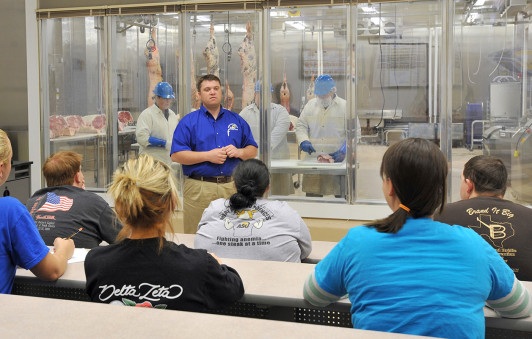 Students get classroom and hands-on training in the Food Safety and Product Development Lab.