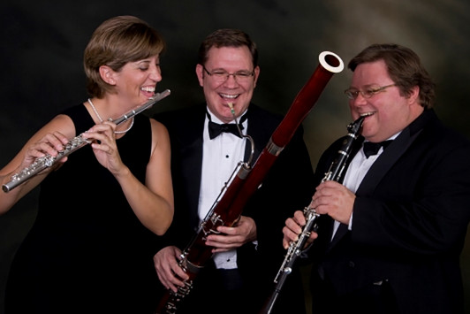 The Mesquite Trio in 2008 (L-R): Dr. Constance Kelley, Dr. Jeff Womack and Dr. Timothy Bonenfant