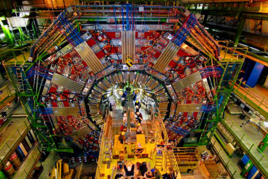 The compact muon solenoid (CMS) was the central component of Wimpee's research activities at CERN.