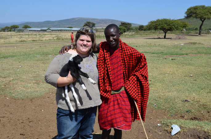 Dr. Loree Branham spent part of summer 2013 in Africa helping with food and water safety issues.