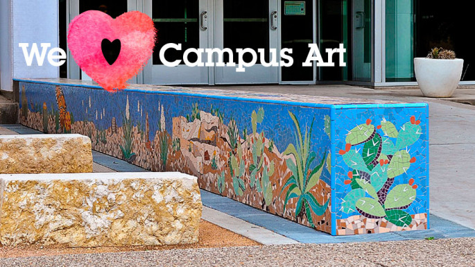 """San Angelo Heritage Mosaic,"" by Julie Richey of Irving, installed May 2013."