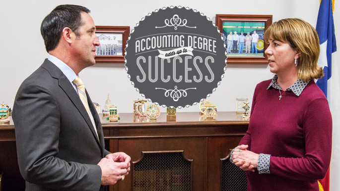 Accounting Degree Adds Up To Success