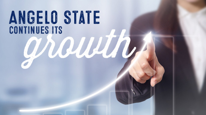 Angelo State continues its growth.