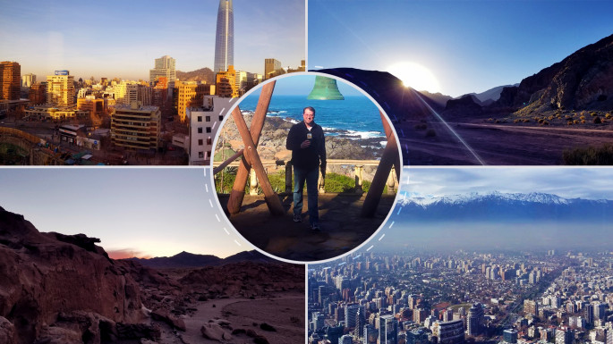 Dr. David Faught travelled to Chile over the summer as part of the Fulbright Hays program.