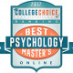 CollegeChoice 2017 Psychology Ranking Badge
