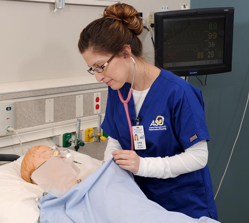 Nursing Lab Gets New Mannequins
