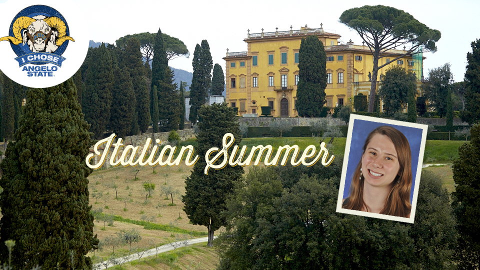 Senior Jenni deBie got to live a writer's dream this summer, spending a month writing poetry at a picturesque Italian villa.