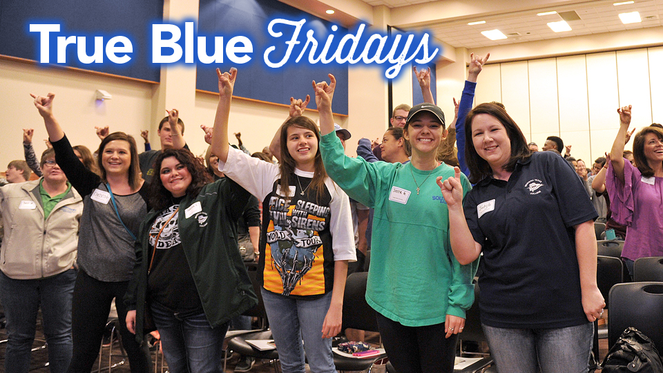 True Blue Fridays
