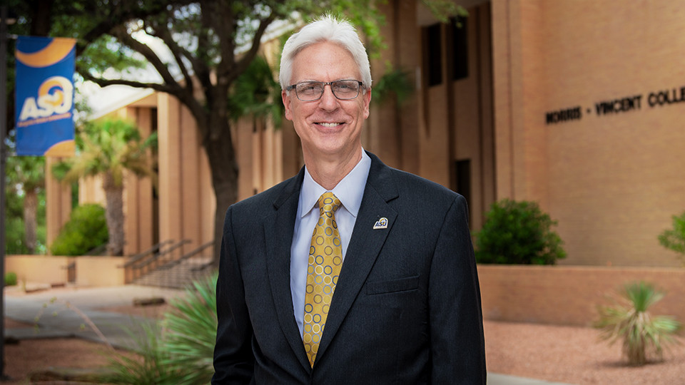 Dr Clifton Jones is the dean for the newly-named Norris-Vincent College of Business