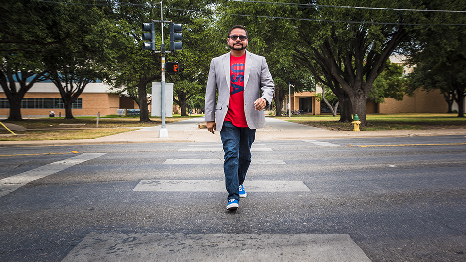 Political Science instructor Manny Campos uses his birthday as an opportunity to give back to the community.