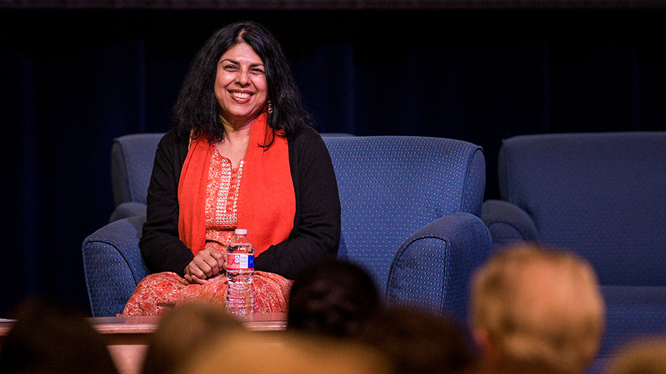 Chitra Divakaruni headlined the 23rd Annual Writers Conference in Honor of Elmer Kelton.