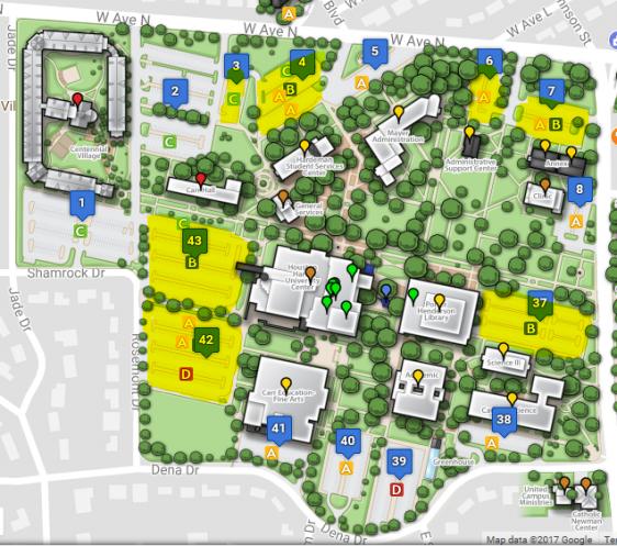 Ttu Parking Map. Ttu Apartment S Bus Night Service With Ttu Parking ...