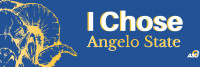 I chose Angelo State Twitter photo