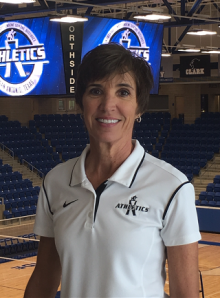 Kirby Jameson, now Assistant Director of Athletics at Northside Independent School District in Sa...