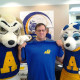 Ram Dad with Roscoe and Bella.