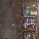 Rocking climbing wall at Angelo State's Ben Kelly Center for Human Performance