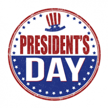president's day 2018 image