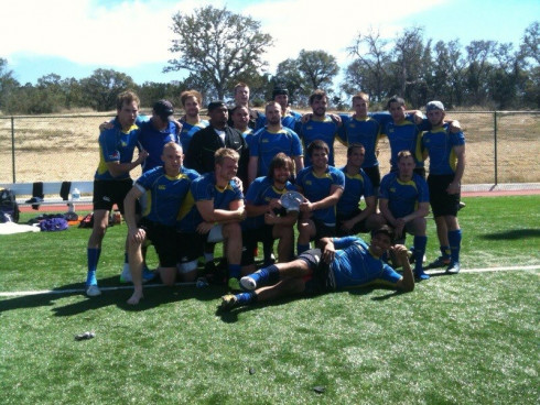 Ram Rugby placed 2nd at the Western Regional Tournament, Spring 2013