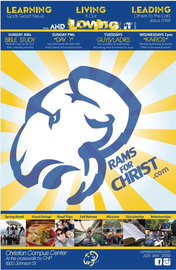 Rams For Christ poster