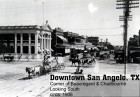 Downtown San Angelo, Corner of Beauregard & Chadbourne, circa 1906