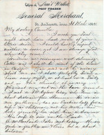 1884 Letter from the Office of Sam'l Wallick