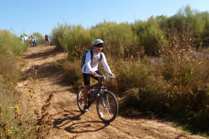 Cycling at Middle Concho Park