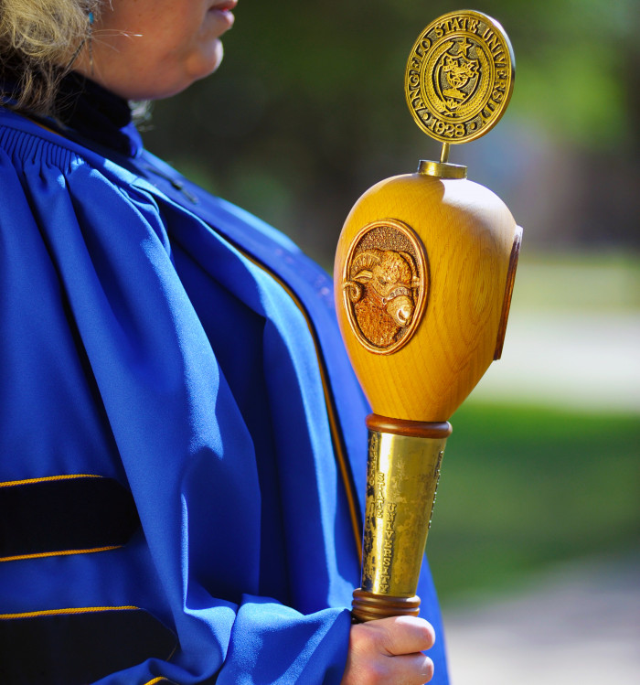 Angelo State Mace
