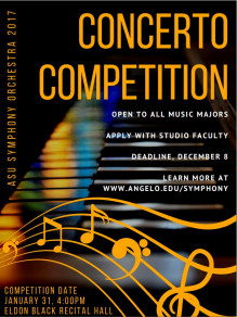 Concerto Competition poster pic