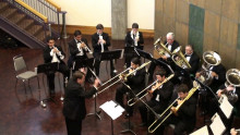 ASU Brass Choir in Concert. November 8, ASU University Auditorium, 7:30 pm