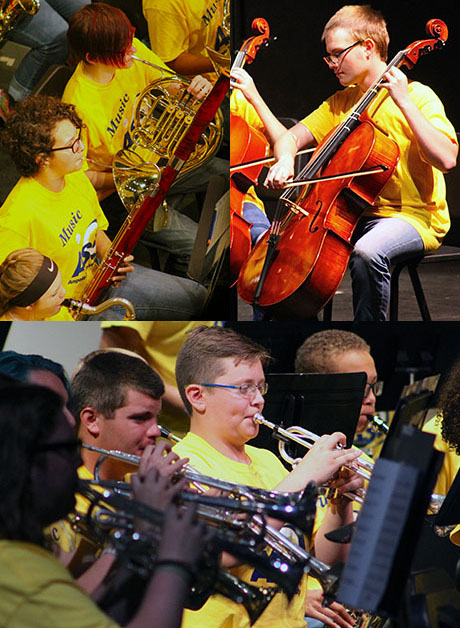 Music Camp Collage