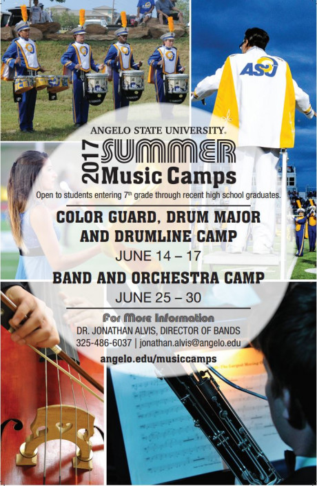 2017 Summer Music Camps