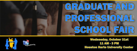 Graduate & Professional School Fair Header