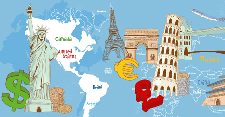 Get help making financial arrangements for your trip abroad.