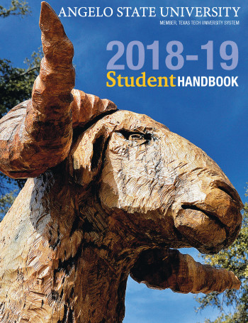 2018-2019 Student Handbook Cover