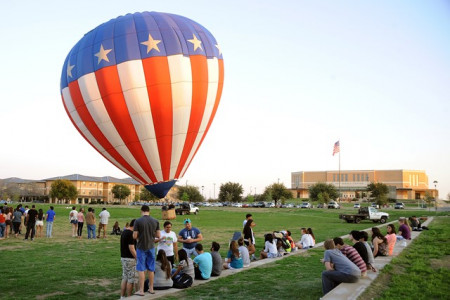 Balloons and campus