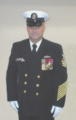 Chief Michael Gonzales, USN