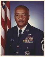 Retirement portrait of Chief Thomas J. Echols who served in the USAF for 31 years.