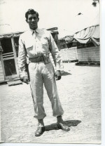 Photo of Elpidio Ramos. Ramos was one of the first Hispanics from Alpine to die during WWII. He w...