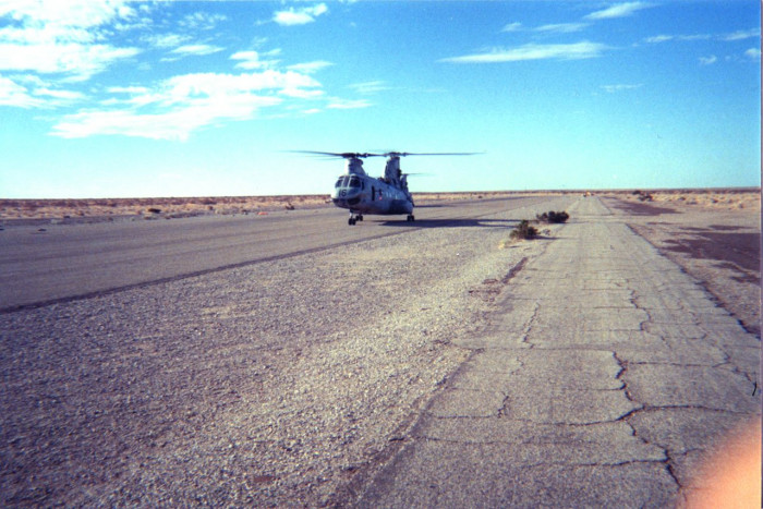 Helo training in Yuma Arizona