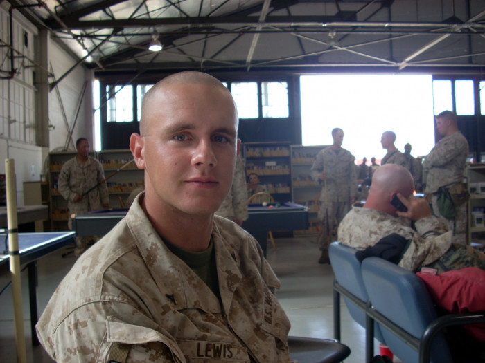 Airforce base in CA. About to leave for Iraq (Sept. 2007)