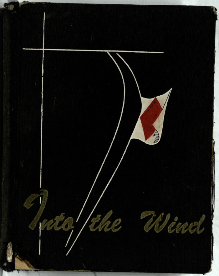 "Cover of the Cruise Charter, ""Into the Wind"""