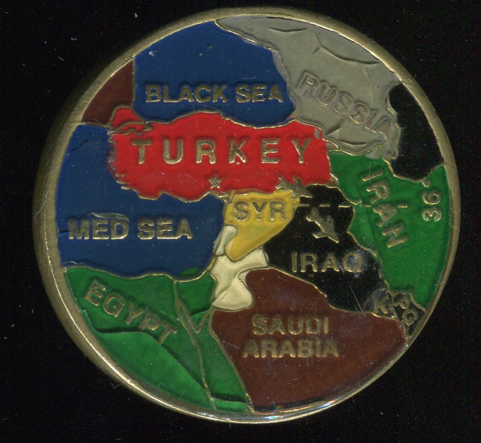 Operation Northern Watch Coin. Side B pictured.