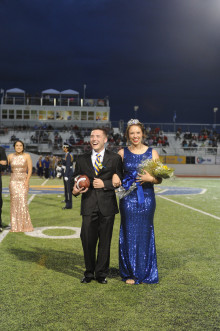 Homecoming King and Queen candidates at Angelo State.
