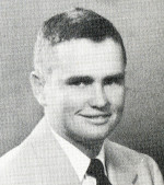 Bill Sims' sophomore photo, 1953 yearbook