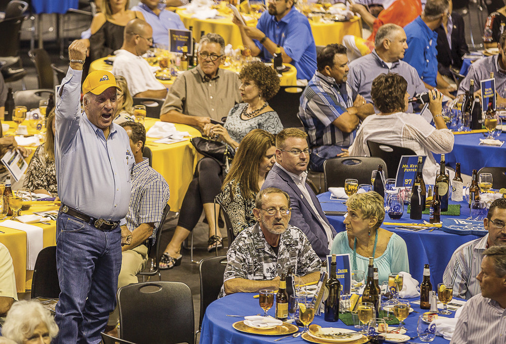 2015 Phil George Blue & Gold Dinner and Auction.