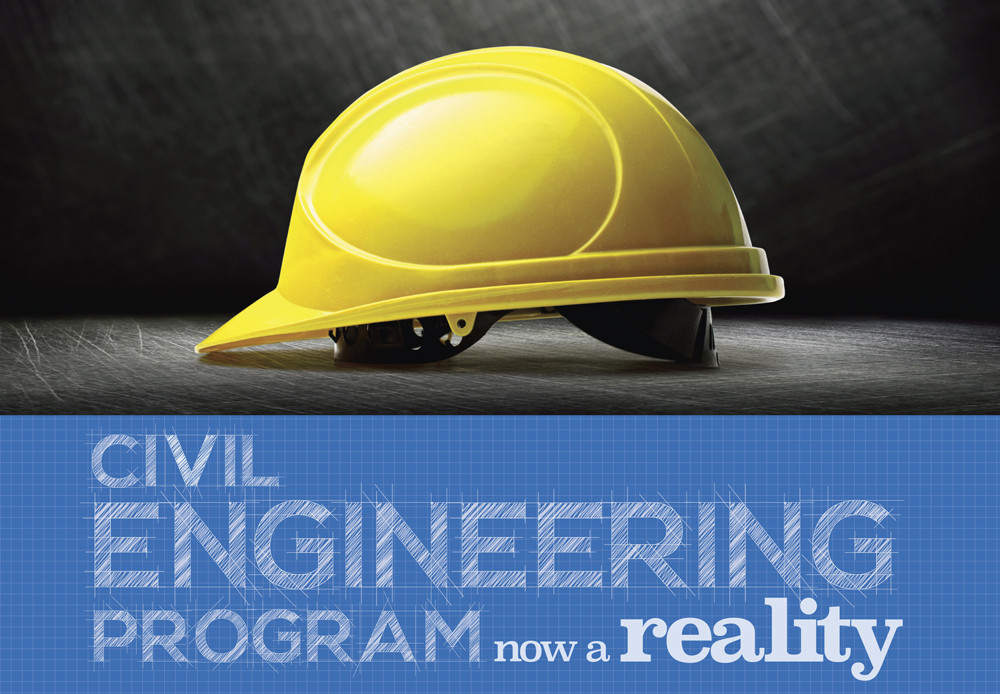 Civil Engineering Program now a reality