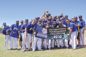Ram Baseball was Lone Star Conference Tournament Champions 2015.