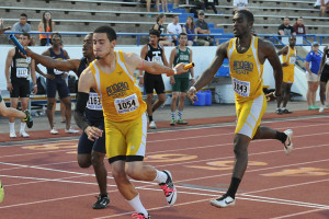 Lone Star Conference Track & Field Championships were held at ASU's LeGrand Sports Complex May 7–9, 2015.