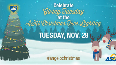 Giving Tuesday and Annual Tree Lighting: Tree Lighting Graphic