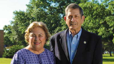 "Mayer: What's in a Name?: Betty Joe ""B.J."" and Richard G. Mayer are 2016 Homecoming Honorary Alumna and Golden Ex of the Year, respectively."